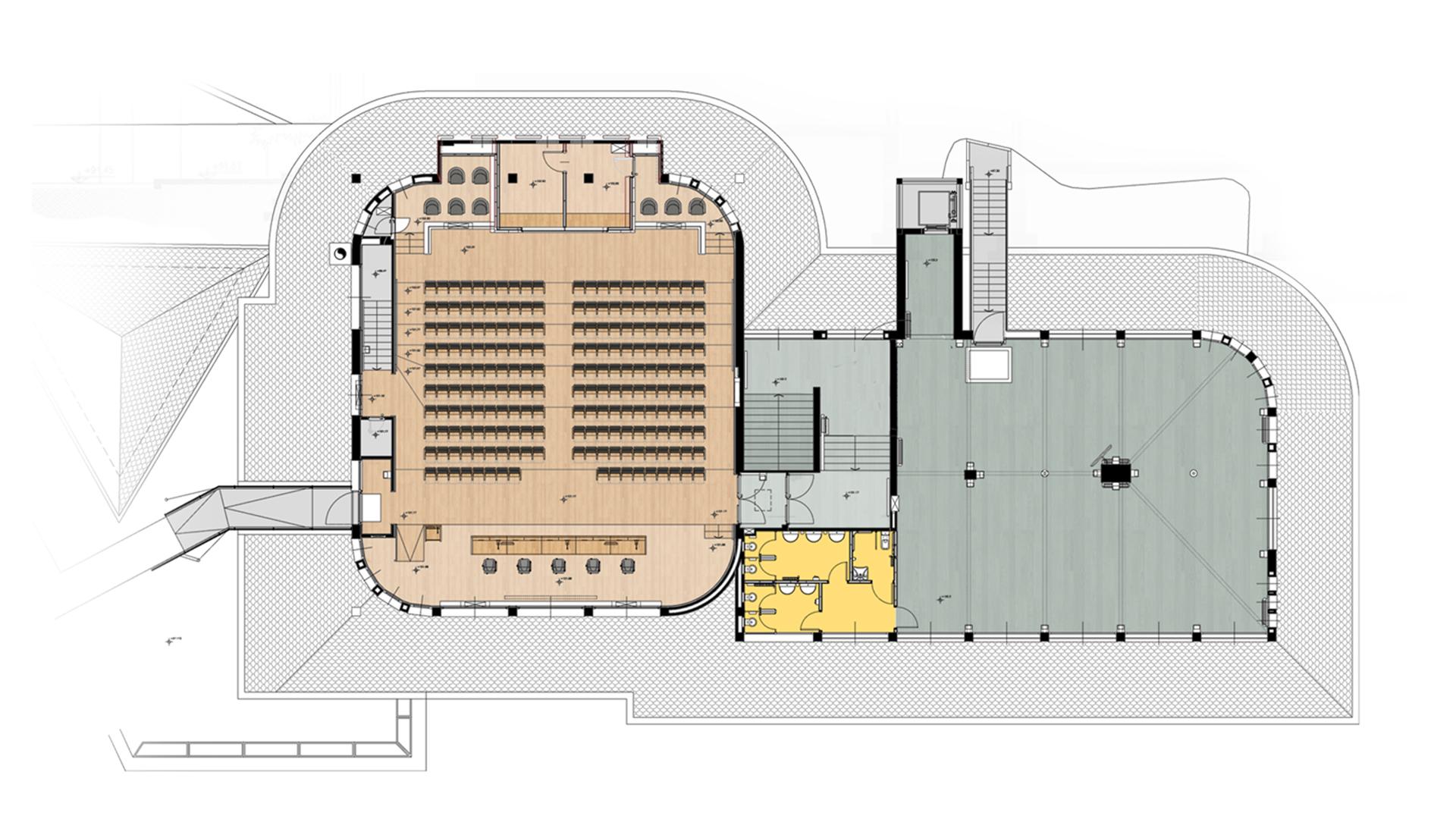 archiloco-courmayeur-allestimenti-interni-arredo-sala-conferenze-planimetria-2