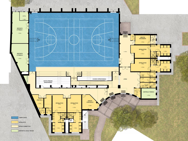 archiloco-palestre-itis-bodoni-torino-planimetria-pianta-architettonica