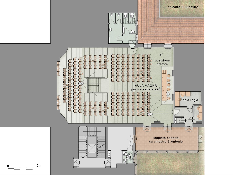 archiloco-restauro-universita-mantova-aula-magna-pianta-architettonica