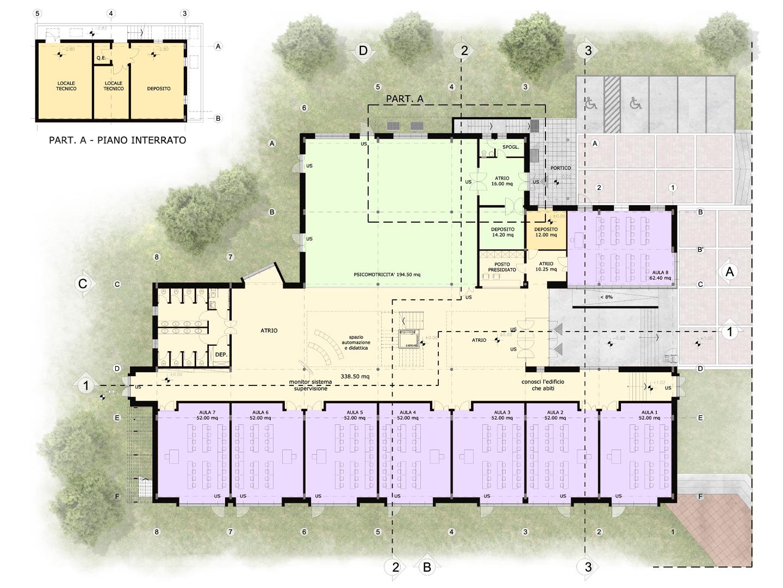 archiloco-scuola-cartura-planimetria